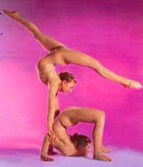 Секс с гимнастками групповой