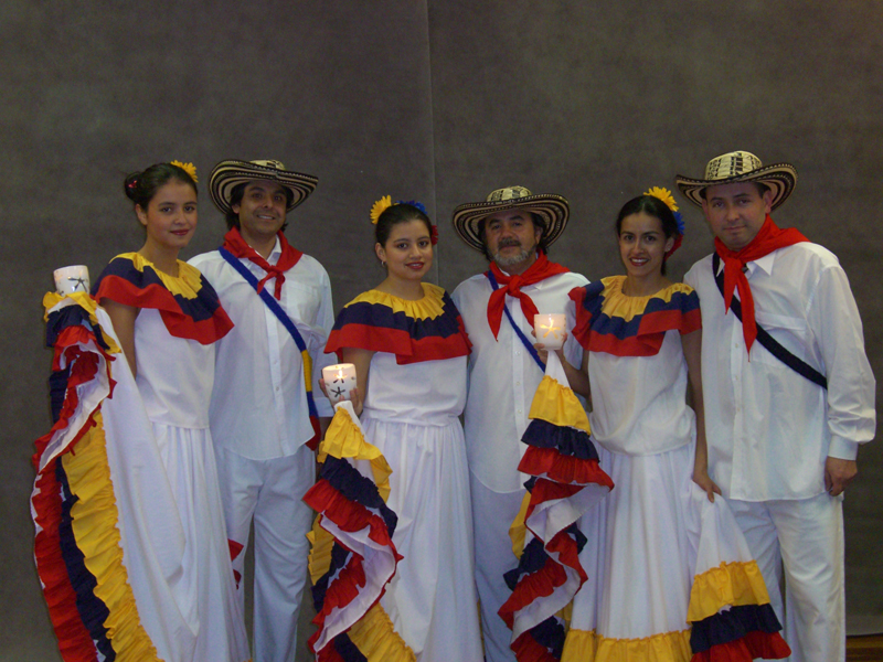 Colombian folkloric dance (6-8 Adult)--Cultural Act