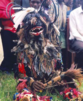 *The ritual dance of Malawi